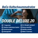 BeCo Komfortschaum Matratze Double Deluxe 20