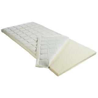 BMM Topper Komfort Latex Matratzenauflage für Matratzen